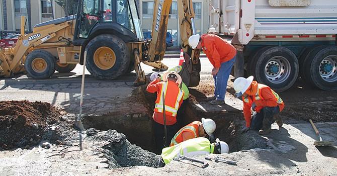 Reponen tubería obsoleta, arranca Sweetwater Authority plan quinquenal de mejora de servicios