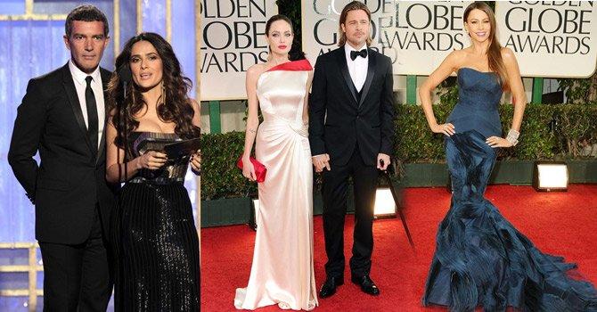 Los premios Golden Globes 2012