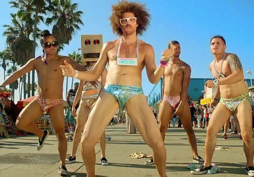 7- Sexy And I Know It - LMFAO