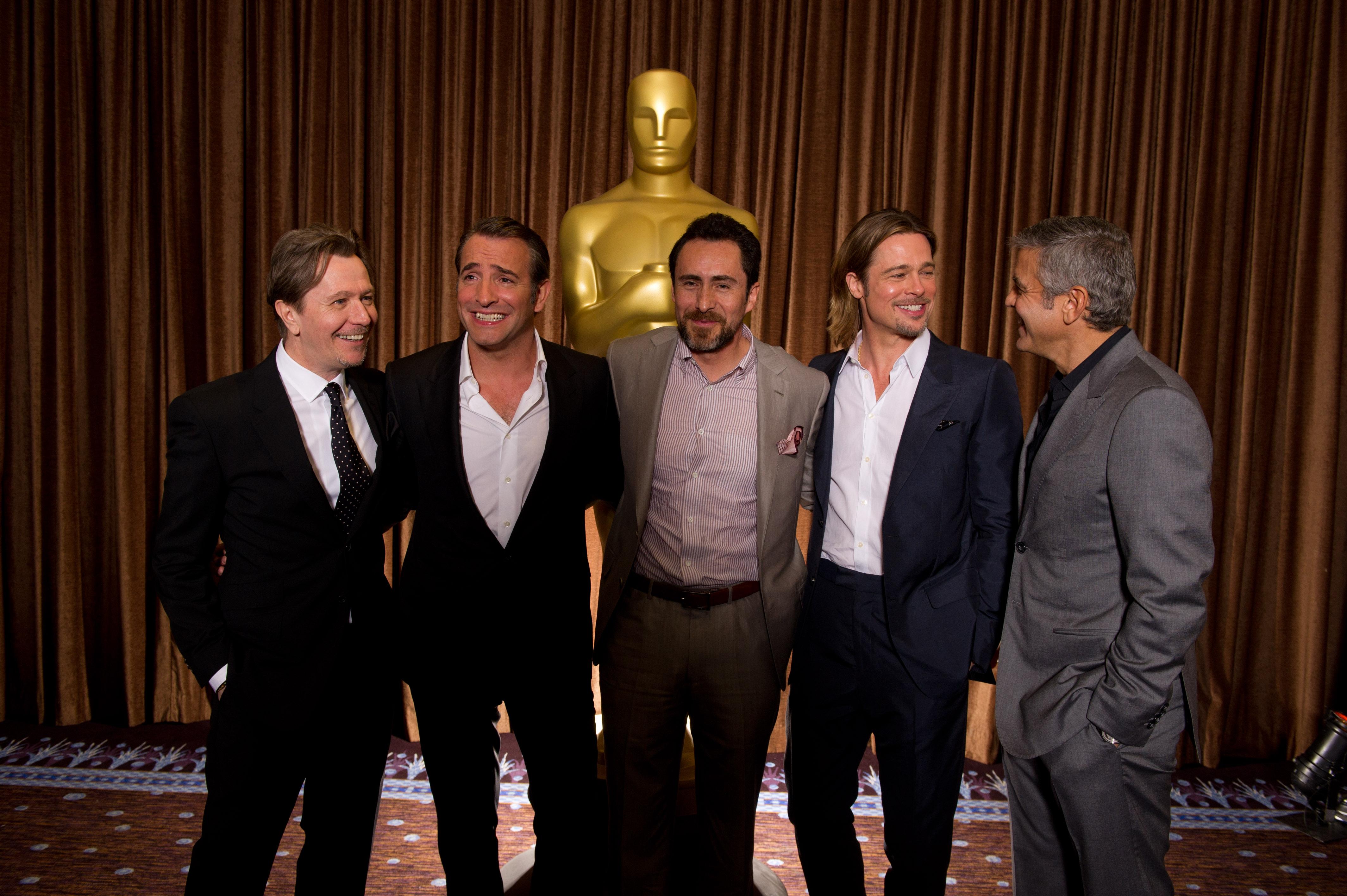 Nominados al Oscar 2012, Demian Bichir, Jean Dujardin, George Clooney ...