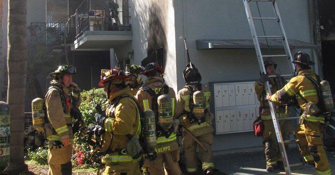 Incendio en unidad habitacional de Chula Vista