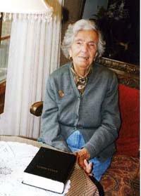 Adelina López Pena, viuda del empresario Manuel Pena