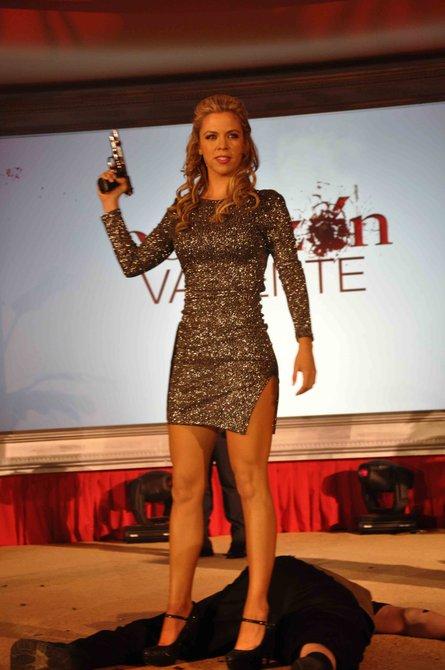 """La presentación de """"Corazón valiente"""" se realizó por todo lo alto en Miami y todo el elenco llegó para saludar al público y medios de comunicación"""