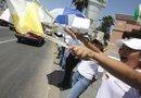 Cientos de voluntarios son los que forman la valla humana en Guanajuato