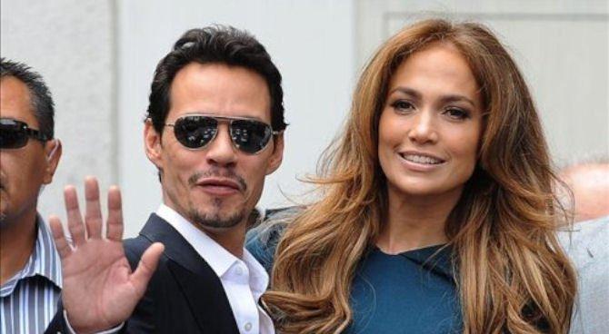 "Jennifer López y Marc Anthony llevan ""¡Q'Viva! The Chosen"" a un show en Las Vegas"