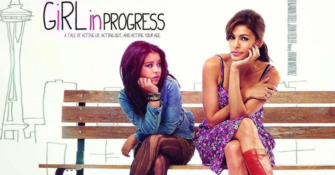 """Eva Mendes y Eugenio Derbez juntos en la película """"Girl in Progress"""""""
