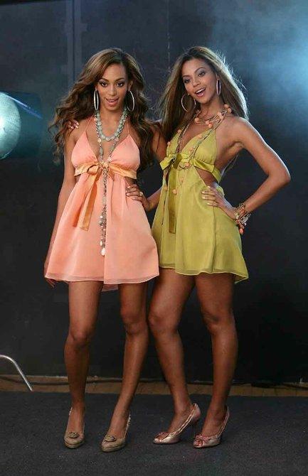 Beyonce y su hermana Solange Knowles