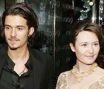 Orlando Bloom y su hermana Semantha