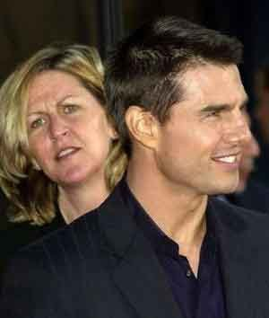 Tom Cruise y su hermana mayor Lee Anne