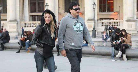 Shakira y su hermano Tonino