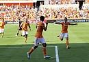 Brad Davis anotó el gol del triunfo en el minuto 67
