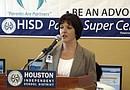Lori Aulds, representante de Microsoft, informó que el HISD, es el primer distrito escolar en Texas en recibir el aporte de esta empresa.