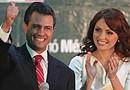 Angélica Rivera  se convierte en la primera actriz en ser primera dama de México en la historia de ese país.