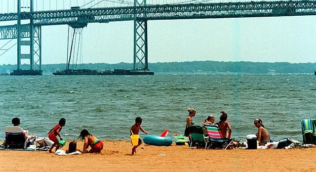 Sandy Point está enclavada en la Bahía de Chesapeake
