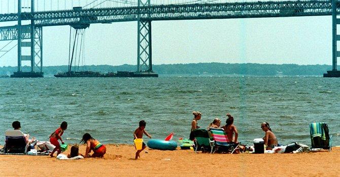 Tres playas cercanas a DC