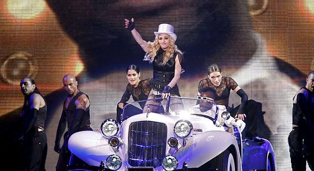 Madonna de cumpleaños.