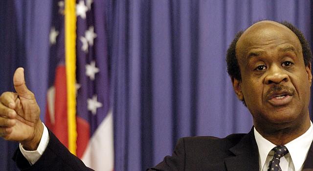 Isiah Leggett, ejecutivo del condado de Montgomery.