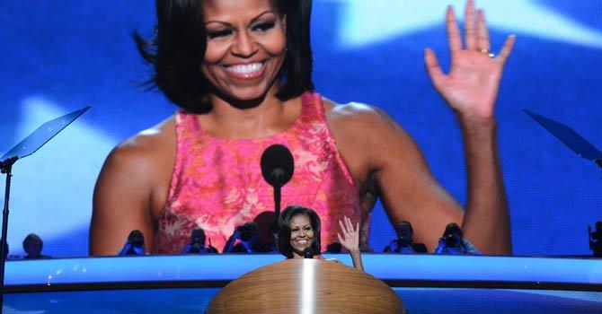"""Michelle Obama alaba el """"rol crucial"""" de los latinos"""