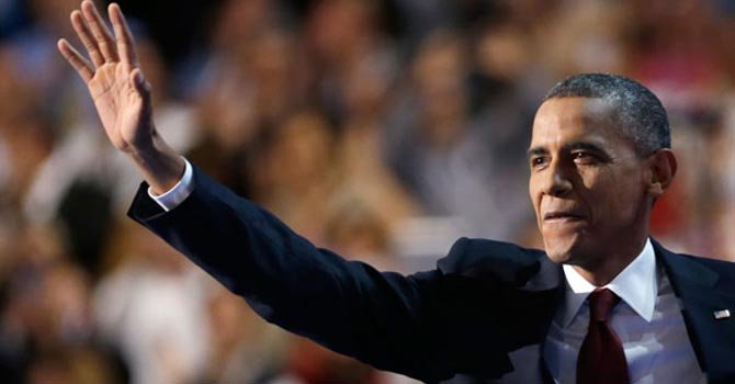 Obama habla de inmigración al aceptar candidatura