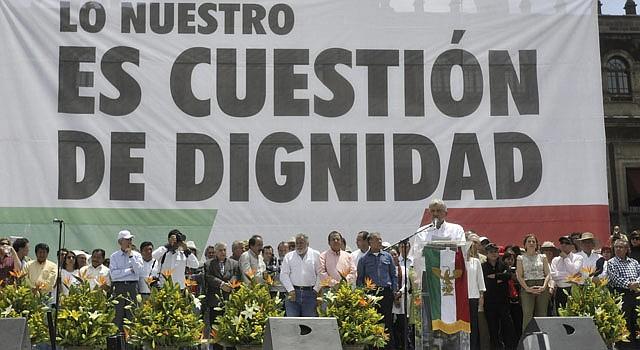 Andrés Manuel López Obrador anunció el domingo 9  de septiembre que se separa de su partido.
