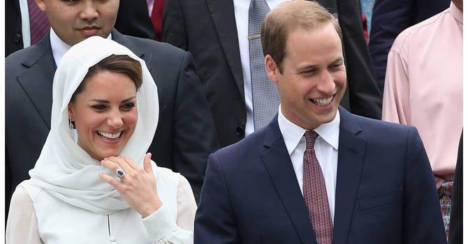 Los duques de Cambridge nombran a su primer hijo