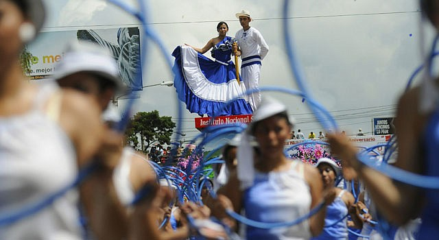 FESTEJO. La independencia de los países de Centroamérica es el 15 de septiembre y se realizan varias actividades.