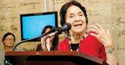 La activista Dolores Huerta en DC