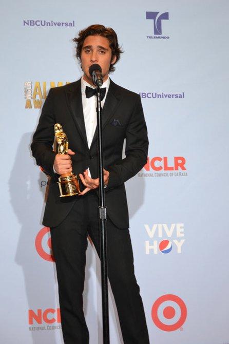 """El actor Diego Boneta.  Después de haber actuado en diferentes telenovelas, y ahora en la película """"Rock of Ages"""", al lado de Tom Cruise, Diego prepara su material musical con temas """"del corazón"""" al lado de Adam Levine el vocalista de Maroon 5."""