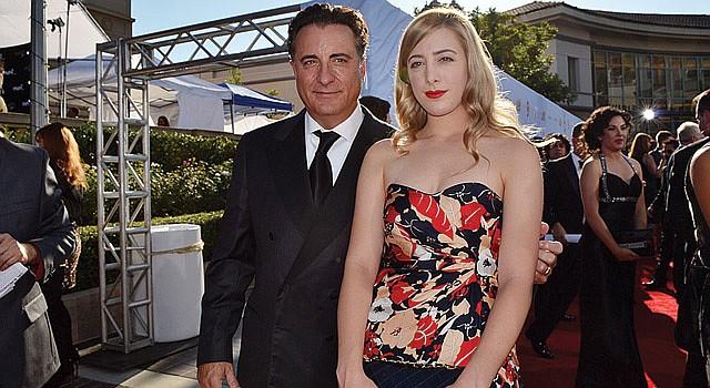 DE TAL PALO, TAL ASTILLA. El actor Andy García y su hija Daniella García-Lorido, quien sigue los pasos de su padre, desfilaron juntos en la alfombra roja.