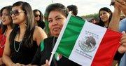 BANDERA. Orgullosa mexicana en Bladensburg, el 16.
