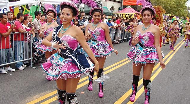RITMO. Fiesta DC se mudó de la Mount Pleasant a la Avenida Pennsylvania. El festival se llevará a cabo el domingo 23 y contará con danzas folclóricas.