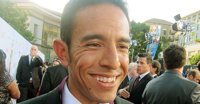 CORREDOR. El mexico americano Leonel Manzano.