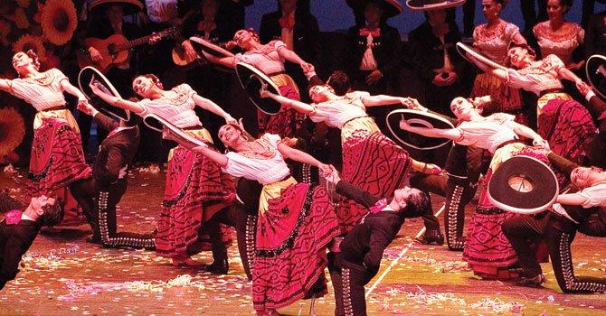El ballet folklórico de México estará en el área