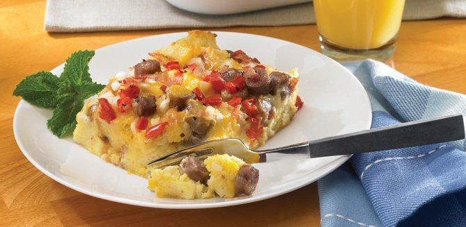 Pastel para el desayuno