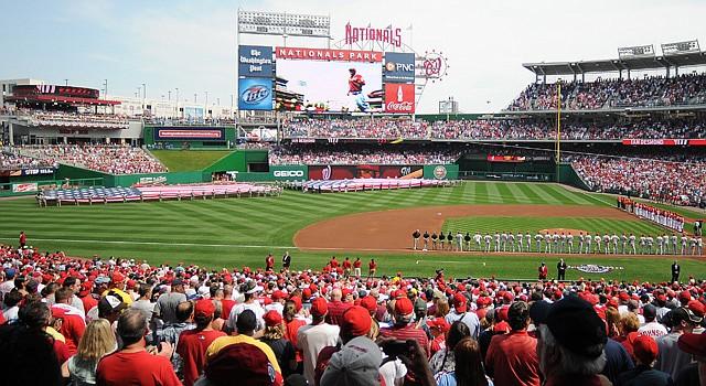 El Nationals Park en Washington, DC, será sede de la postemporada de la Liga Nacional.