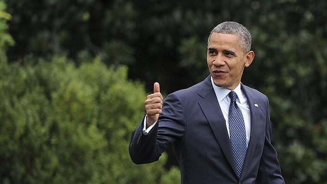 El presidente Barack Obama ganó en estados clave como Ohio y Florida.
