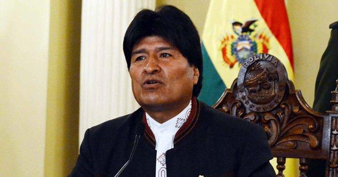 Morales no habla sobre salud de Chávez