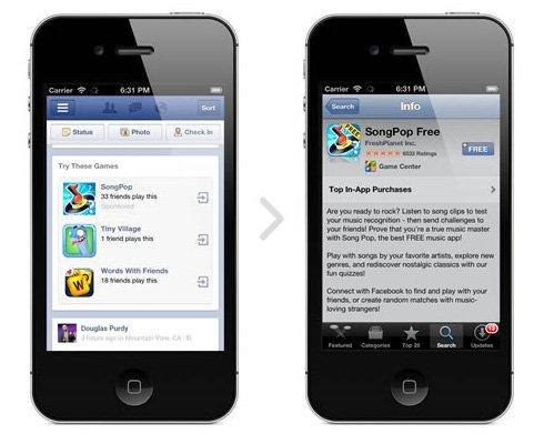 Facebook en pruebas de su red de anuncios móvil