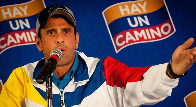 El ex candidato presidencial opositor venezolano Henrique Capriles el martes 9 de octubre.