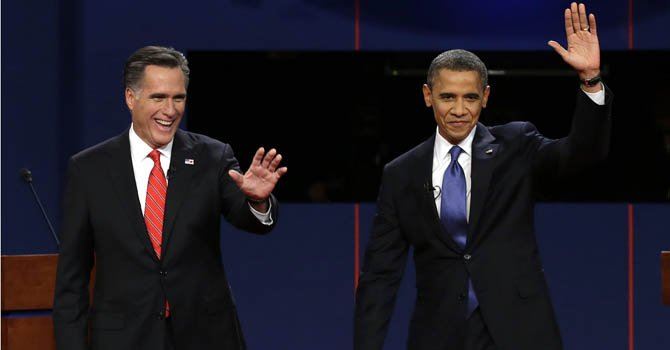 Obama y Romney casi no gastaron en TV hispana