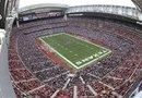 Esta es una vista del estadio Reliant, la casa de los Texans que aspira a convertirse en la sede del Super Tazon 2017.