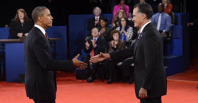 Obama y Romney buscan el voto femenino