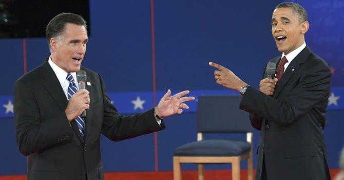 Obama y Romney se preparan para su último debate