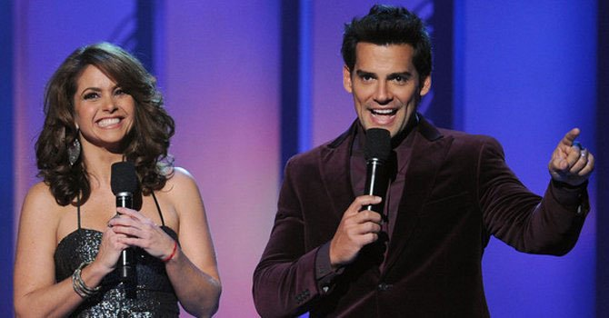 Lucero y Cristian de la Fuente en los Grammy Latinos