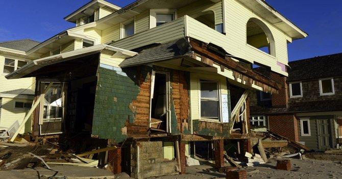 Rhode Island, zona de catástrofe