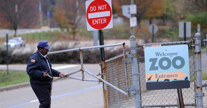 EL Zoológico de Pittsburgh, donde un niño murió por el ataque de perros salvajes africanos tras caer al lugar donde se exhibían los animales, el domingo 4 de noviembre.