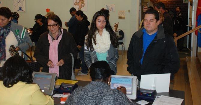 El voto latino se siente en Maryland