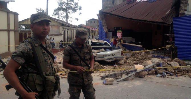 Guatemala: 52 muertos a causa de terremoto
