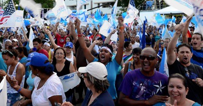 Los puertorriqueños votaron el martes 6 de noviembre a favor de la anexión a Estados Unidos.