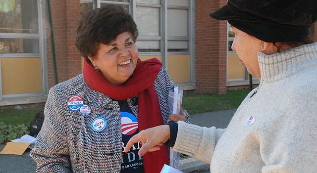 Ana Sol Gutiérrez, delegada de Montgomery.